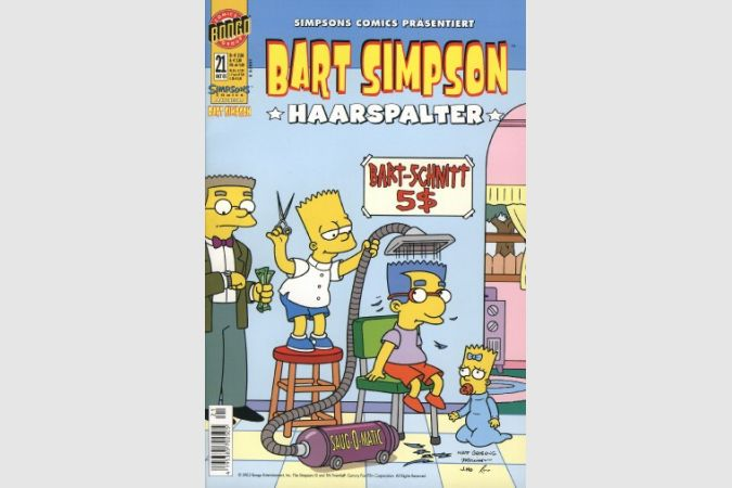 Bart Simpson Comic Nr. 21