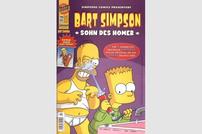 Bart Simpson Comic Nr. 22