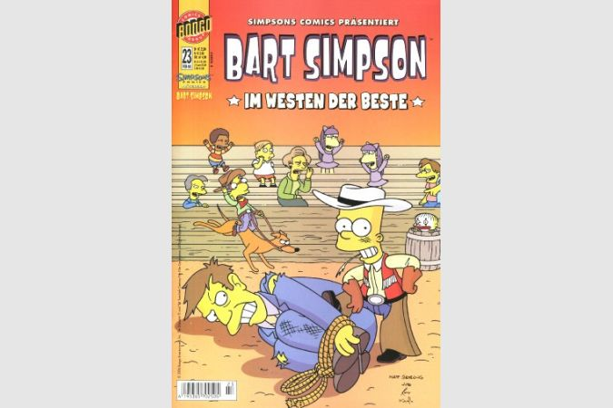 Bart Simpson Comic Nr. 23