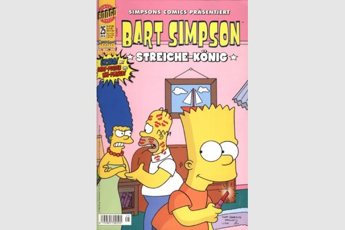 Bart Simpson Comic Nr. 25