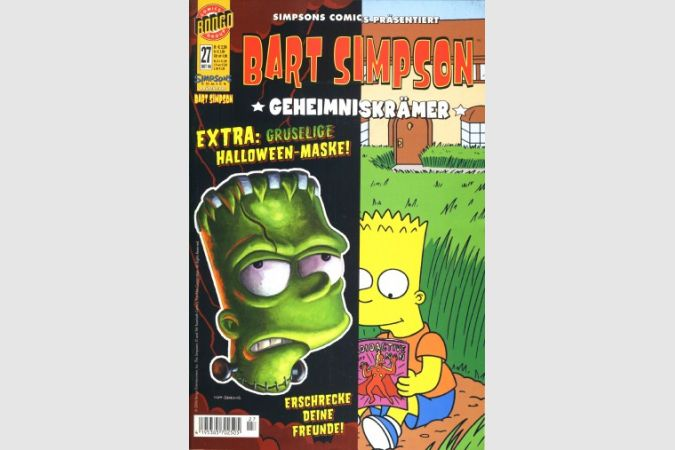 Bart Simpson Comic Nr. 27