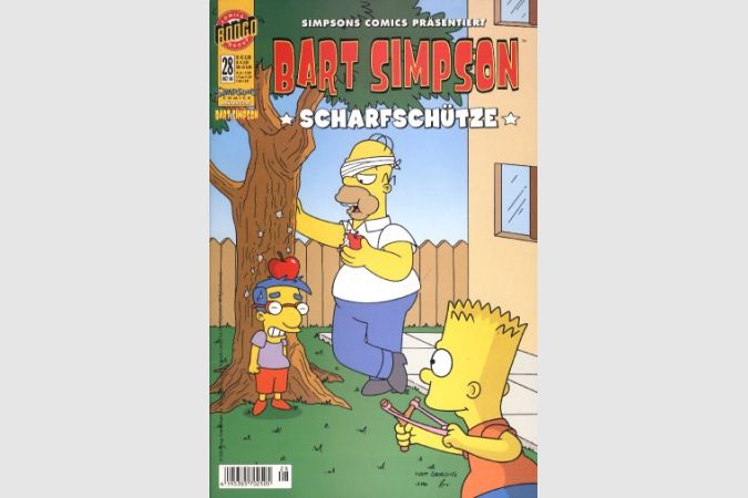 Bart Simpson Comic Nr. 28