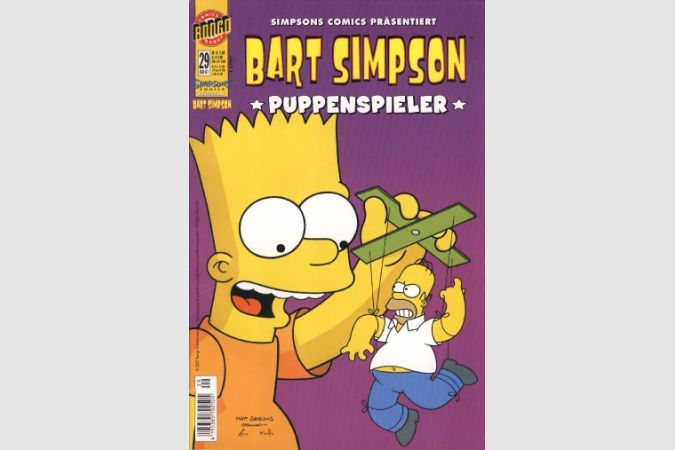 Bart Simpson Comic Nr. 29