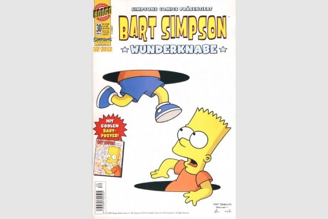 Bart Simpson Comic Nr. 30