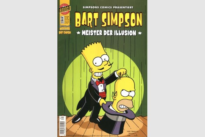 Bart Simpson Comic Nr. 31