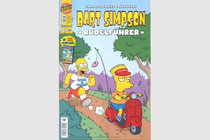 Bart Simpson Comic Nr. 32