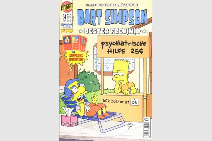 Bart Simpson Comic Nr. 34