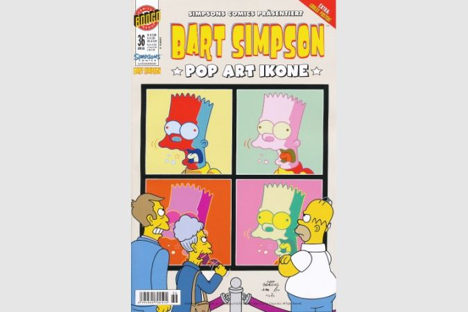 Bart Simpson Comic Nr. 36
