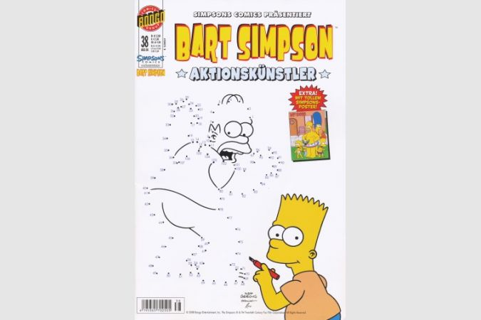 Bart Simpson Comic Nr. 38