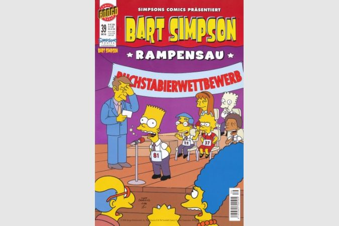Bart Simpson Comic Nr. 39