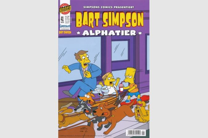Bart Simpson Comic Nr. 41