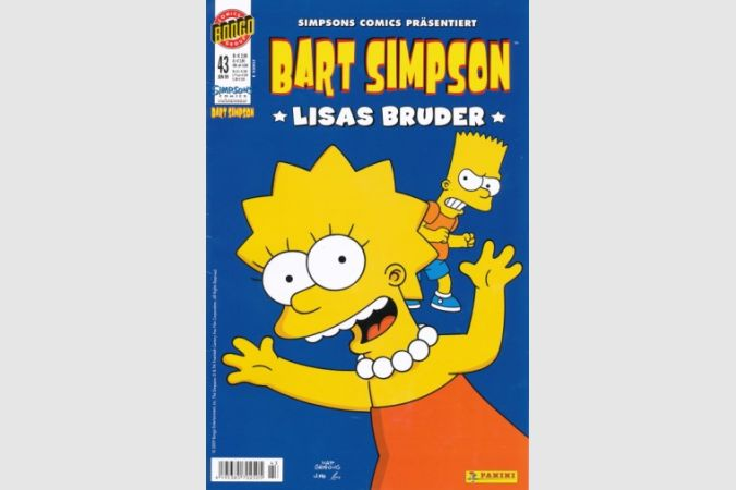 Bart Simpson Comic Nr. 43