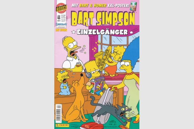 Bart Simpson Comic Nr. 44