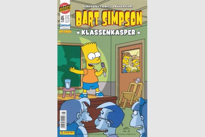 Bart Simpson Comic Nr. 45