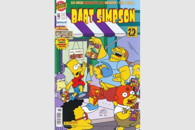 Bart Simpson Comic Nr. 46