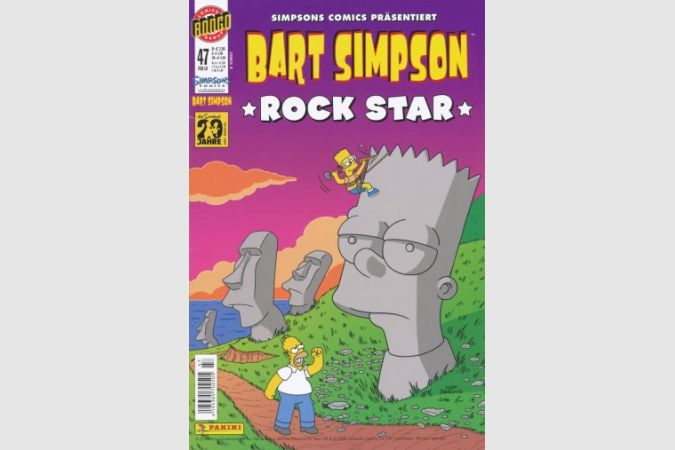 Bart Simpson Comic Nr. 47