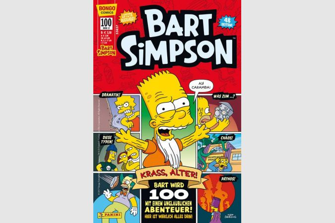 Bart Simpson Comic Nr. 100