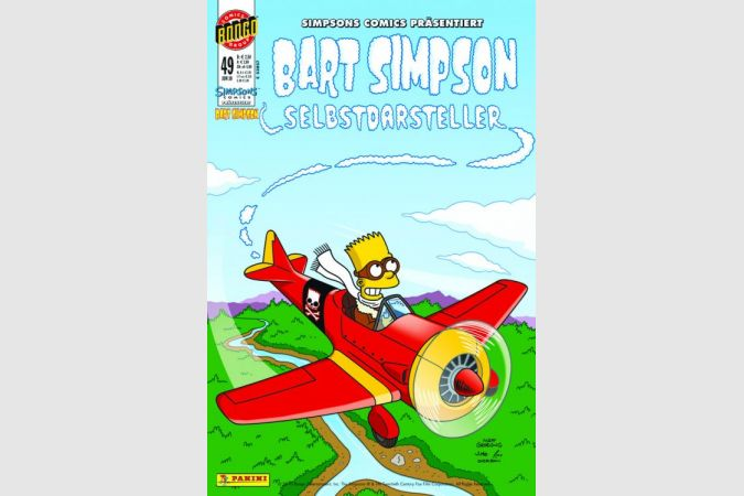 Bart Simpson Comic Nr. 49