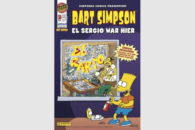Bart Simpson Comic Nr. 50