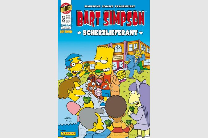 Bart Simpson Comic Nr. 53