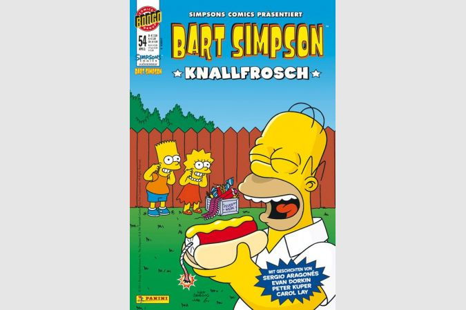 Bart Simpson Comic Nr. 54