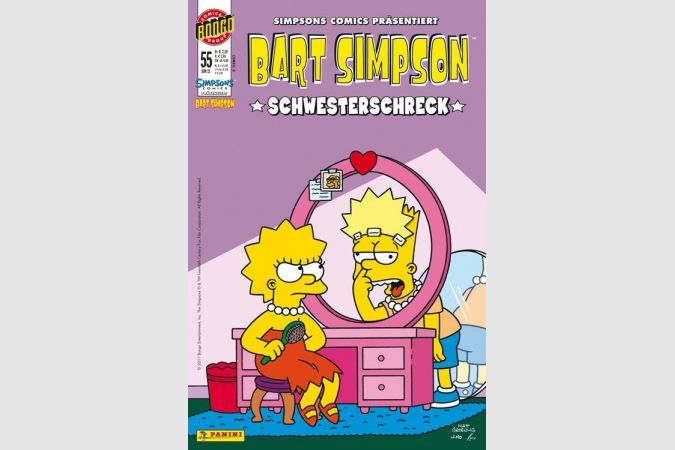 Bart Simpson Comic Nr. 55
