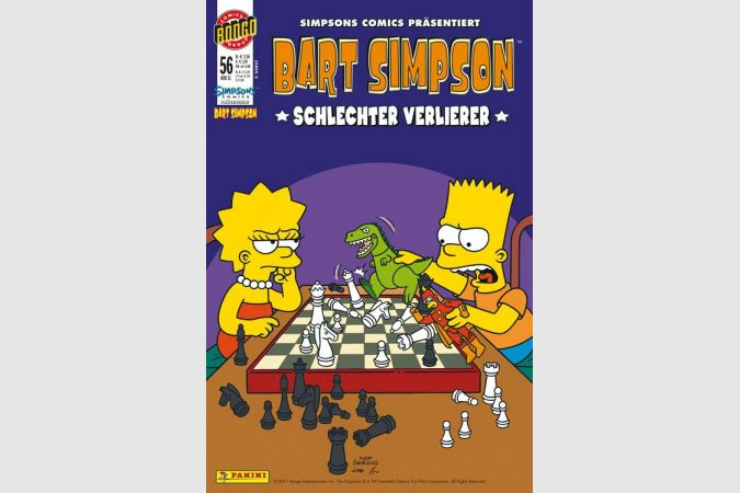 Bart Simpson Comic Nr. 56