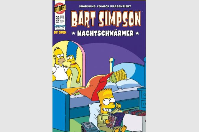 Bart Simpson Comic Nr. 59