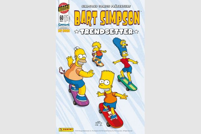 Bart Simpson Comic Nr. 60