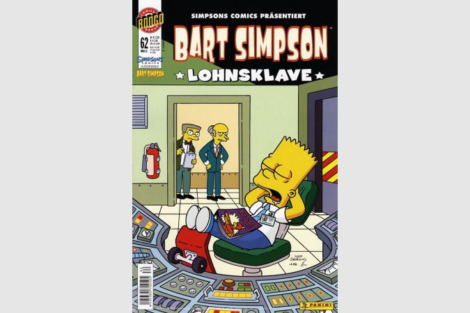 Bart Simpson Comic Nr. 62