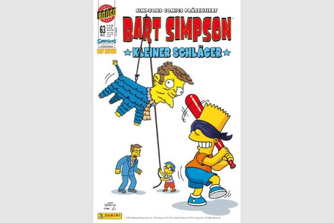 Bart Simpson Comic Nr. 63
