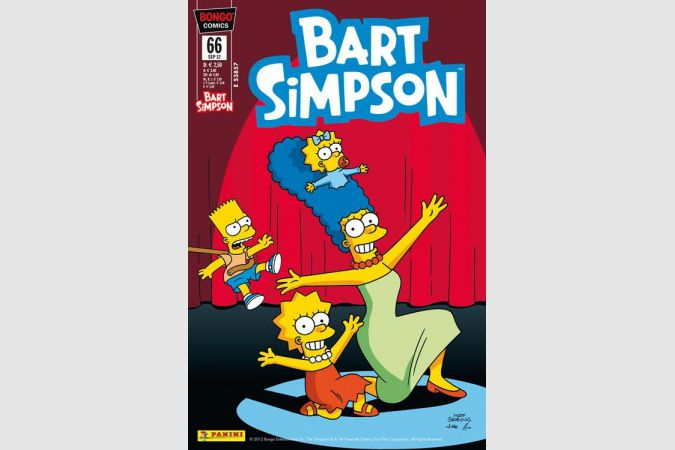 Bart Simpson Comic Nr. 66
