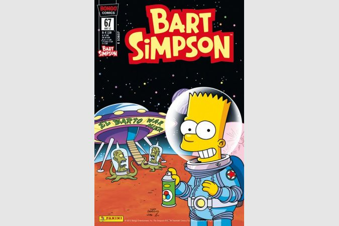 Bart Simpson Comic Nr. 67