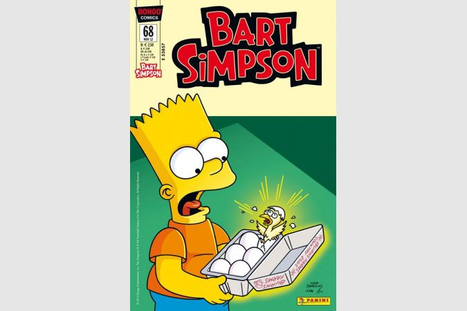 Bart Simpson Comic Nr. 68