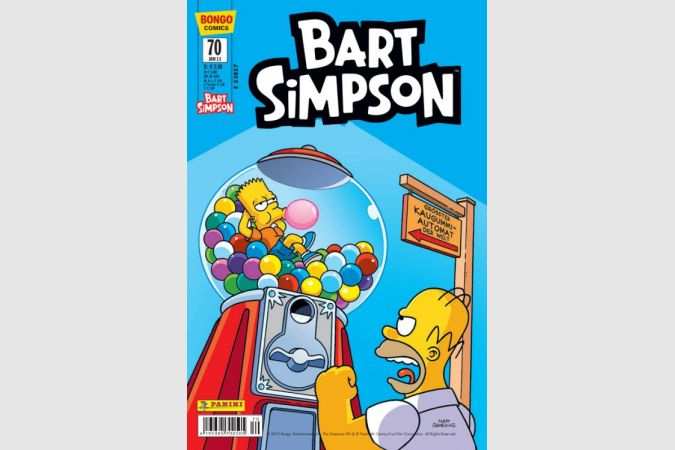 Bart Simpson Comic Nr. 70