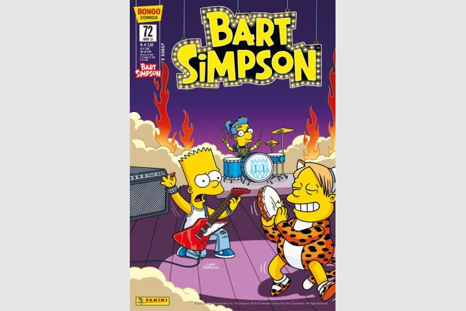 Bart Simpson Comic Nr. 72