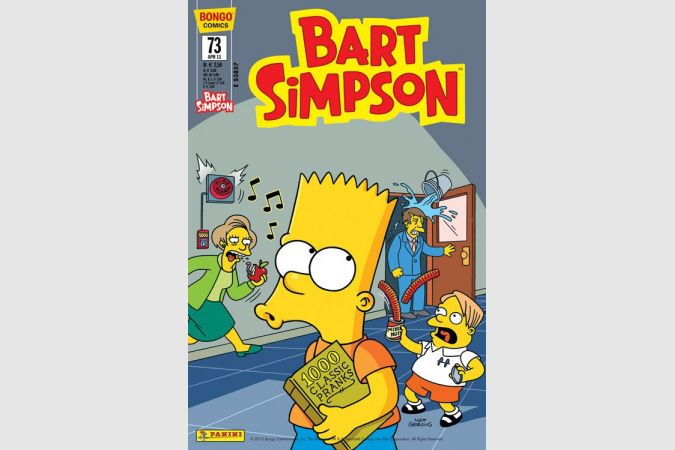 Bart Simpson Comic Nr. 73