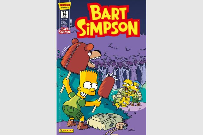 Bart Simpson Comic Nr. 74