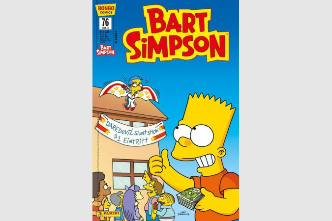 Bart Simpson Comic Nr. 76