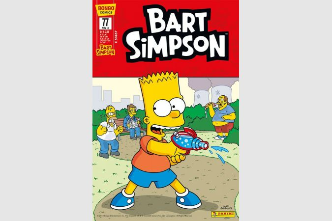 Bart Simpson Comic Nr. 77