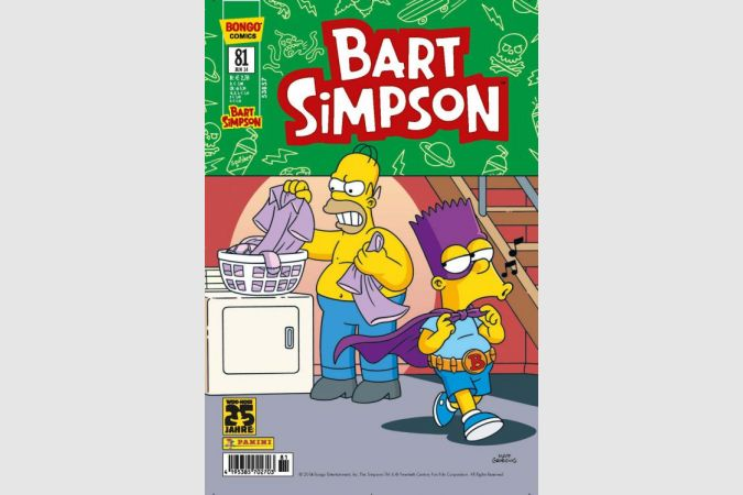 Bart Simpson Comic Nr. 81