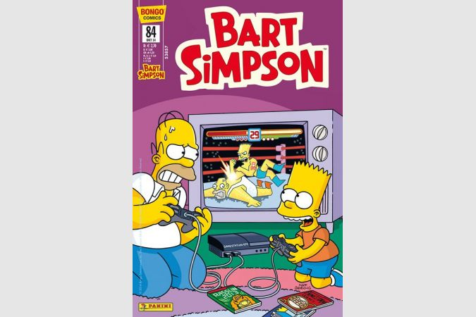 Bart Simpson Comic Nr. 84