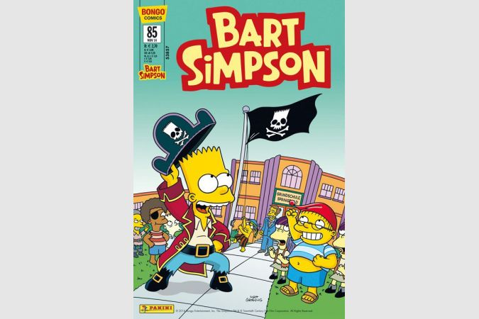 Bart Simpson Comic Nr. 85