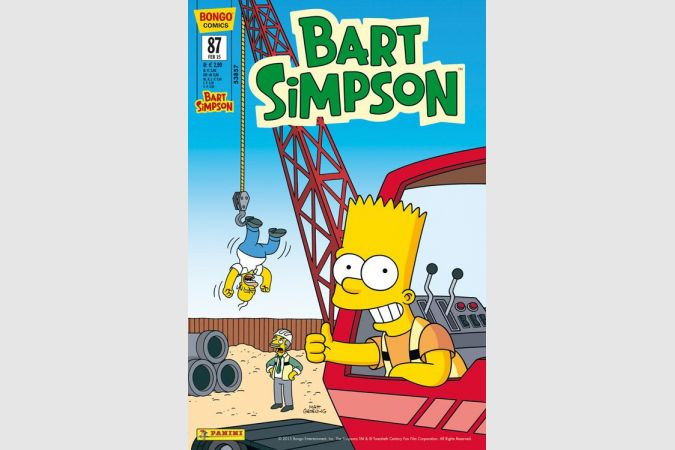 Bart Simpson Comic Nr. 87