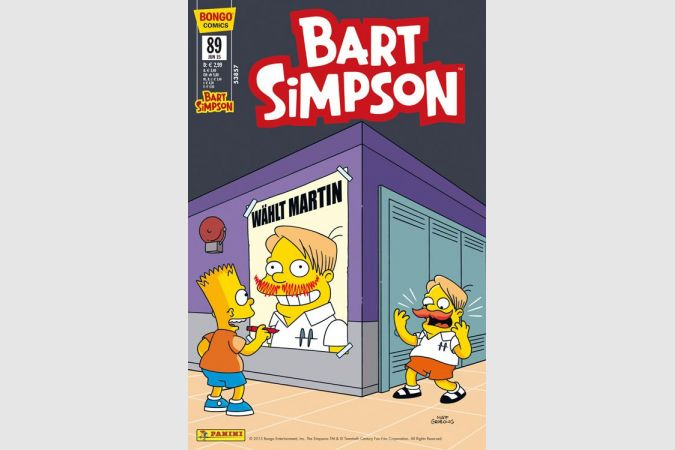 Bart Simpson Comic Nr. 89