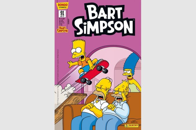 Bart Simpson Comic Nr. 91