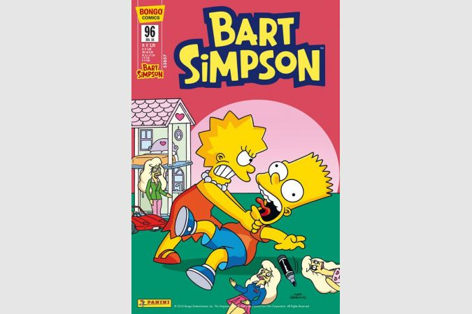 Bart Simpson Comic Nr. 96