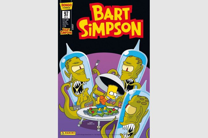 Bart Simpson Comic Nr. 97