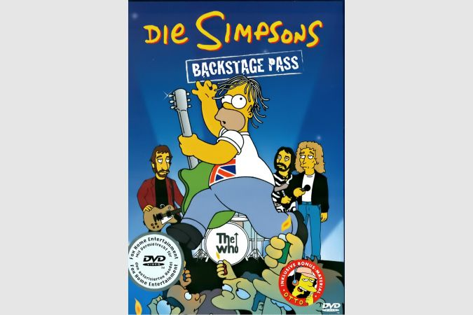 Simpsons Backstage Pass