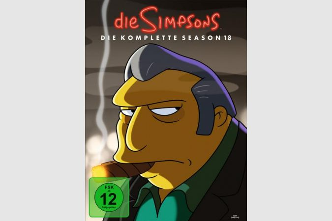 Simpsons Staffel 18 Collection